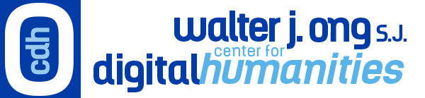 Walter J. Ong S.J. Center for digital Humanities